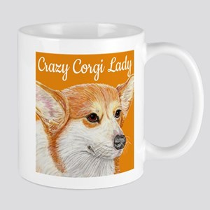 Crazy Corgi Lady Mug